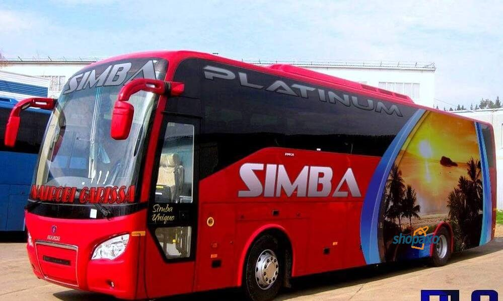 simba coach online booking, destinations and contacts