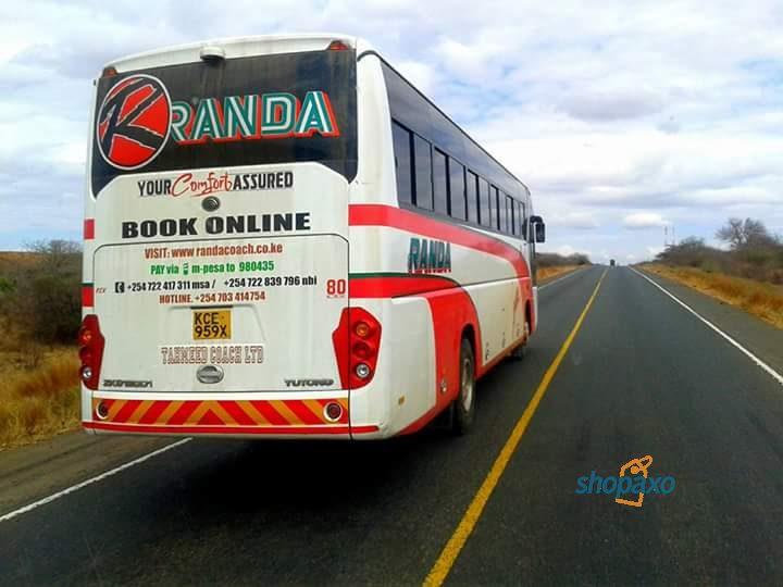 randa coach online booking