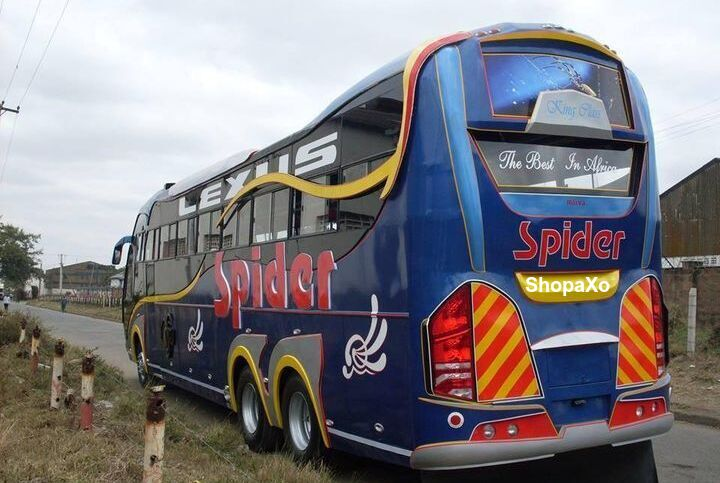 spider coach online booking